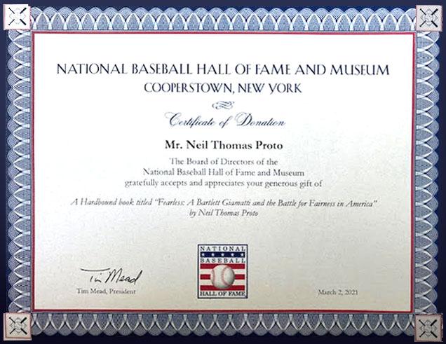 BHF award